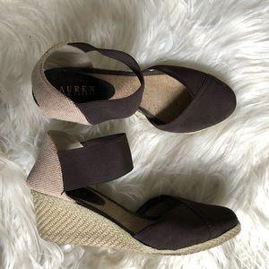 Lauren Ralph Lauren Ankle Strap Wedges
